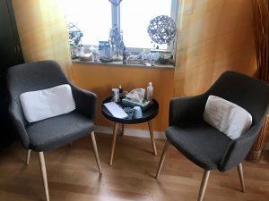 Sitzecke für Gespräche